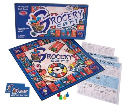 Grocery Cart Game Grades 4-9   -