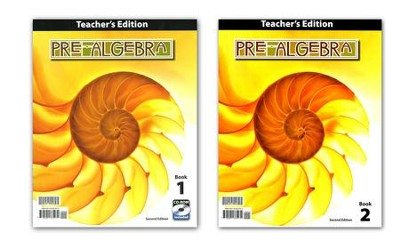BJU Pre-Algebra Grade 8 Teacher's Edition with CD-Rom, 2nd Edition    -