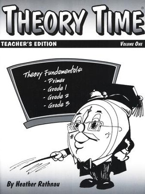 Theory Time for Primer - Grade 3 Teacher's Edition  -