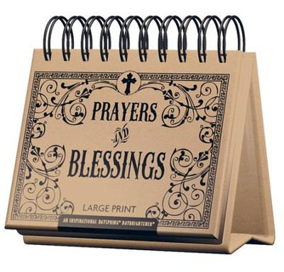 Prayers and Blessings Daybrightener, Large Print  -
