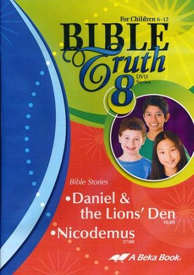Abeka Bible Truth DVD #8: Daniel & the Lions' Den, Nicodemus  -