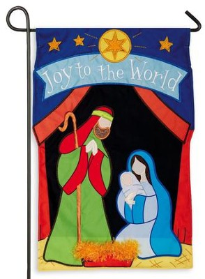 Joy to the World, Flag, Small  -