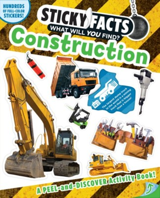 Sticky Facts: Construction Activity Book  -     By: Workman Publishing