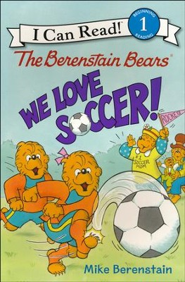 The Berenstain Bears: We Love Soccer!, softcover  -     By: Mike Berenstain