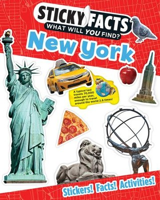 Sticky Facts: New York Activity Book  -     By: Workman Publishing