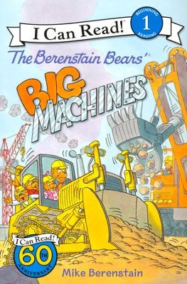The Berenstain Bears' Big Machines  -     By: Mike Berenstain