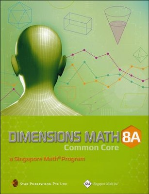 Dimensions Mathematics Textbook 8A (Common Core State  Standards Edition)   -