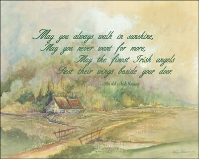 May You Always Walk Plaque  -     By: Lori Voskuil-Dutter