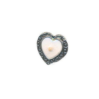 Mustard Seed Heart Lapel Pin  -
