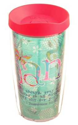 Thanks 16 oz. Tervis Tumbler With Lid  -     By: Caroline Simas