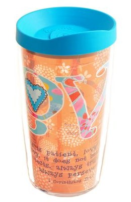 Love, 16 oz. Tervis Tumbler With Lid  -     By: Caroline Simas