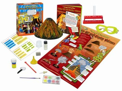 The Magic School Bus: Blasting Off with Erupting Volcanoes Kit  -