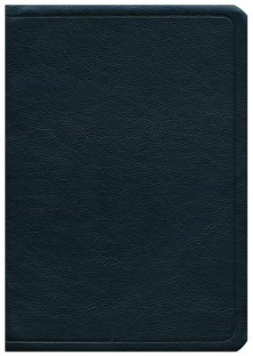 NASB Side-column Reference Wide Margin Bible - Calfskin Leather, Black  -     By: The Lockman Foundation