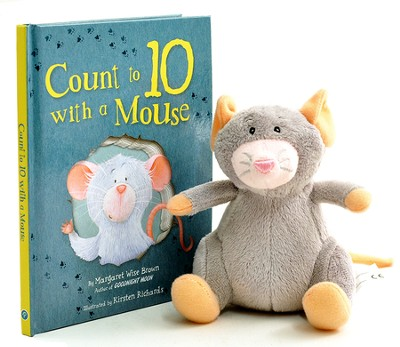 Count to 10 With a Mouse, Book & Plush Toy   -     By: Margaret Wise Brown     Illustrated By: Kirsten Richards