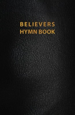Believers Hymn Book, Revised Edition--genuine leather, black  -