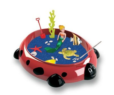 Ladybug Sandbox Critters Small Playset, 10.5 x 8.5 x 2   -     By: Vince Kurr