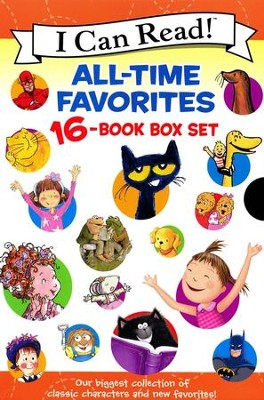 I Can Read All-Time Favorites 16-Book Box Set  -     By: Various Authors