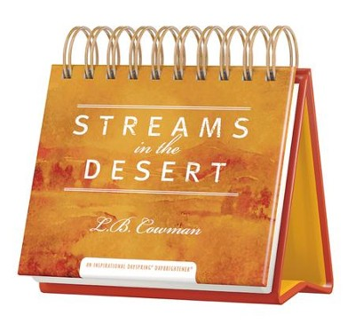 Streams in the Desert DayBrightener  -     Edited By: Jim Reimann     By: L.B. Cowman