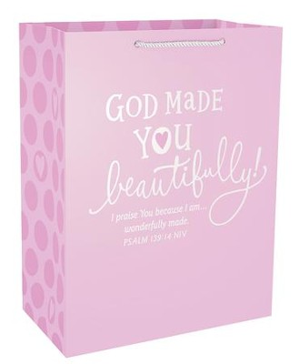 God Made You Beautifully, Psalm 139:14, Large  -