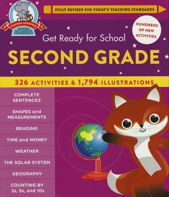 Get Ready for Second Grade, Revised    -