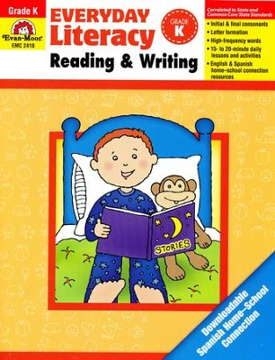 Everyday Literacy Reading and Writing, Grade K   -