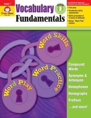 Vocabulary Fundamentals, Grade 1   -