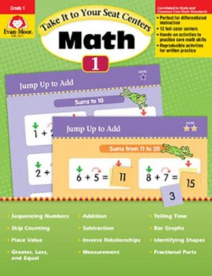 Take It to Your Seat Centers: Common Core Math, Grade 1  -