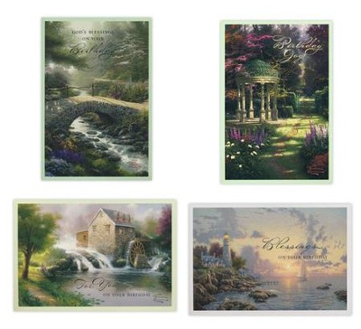 Birthday, Thomas Kinkade Cards, Box of 12  -