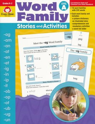 Word Family Stories and Activities, Level A   -