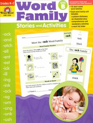 Word Family Stories and Activities, Level B   -