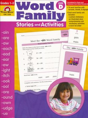 Word Family Stories and Activities, Level D   -