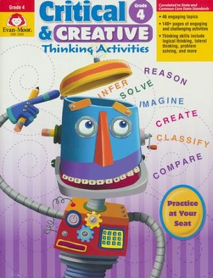 Critical and Creative Thinking Activities, Grade 4   -