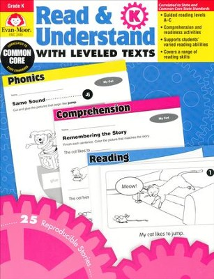 Read & Understand with Leveled Texts, Grade K   -