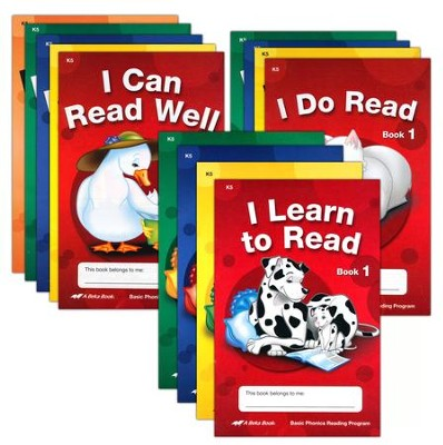 Abeka Basic Phonics Readers Set (set of 13)   -