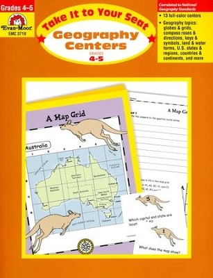 Take It to Your Seat: Geography Centers, Grade 4-5   -