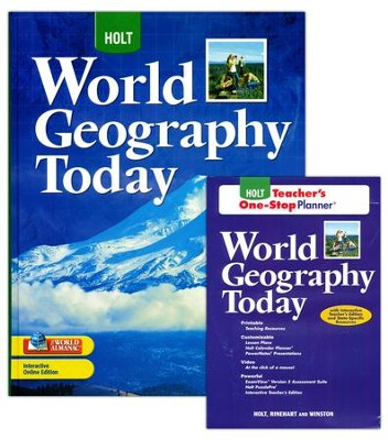 Holt World Geography Today Homeschool Package   -