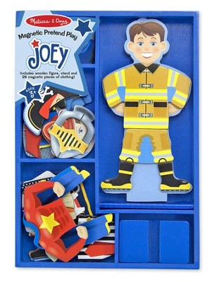 Magnetic Pretend Dress Up, Joey  -