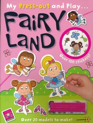 Press-Out & Play Fairy Land  -     By: Lara Ede