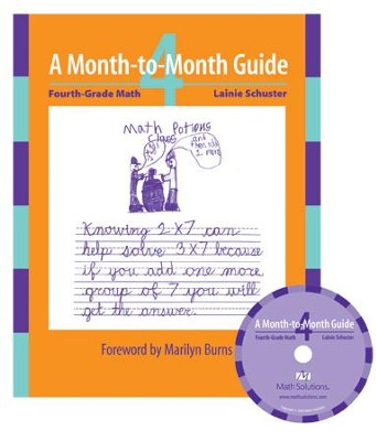 MTM Fourth Grade Math: A Month-to-Month Guide (includes CD)  -     By: Lainie Schuster