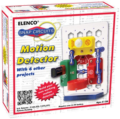 Snap Circuits Motion Detector   -