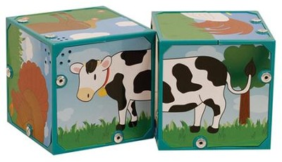 Musical Sound Blocks, Farm Animals  -