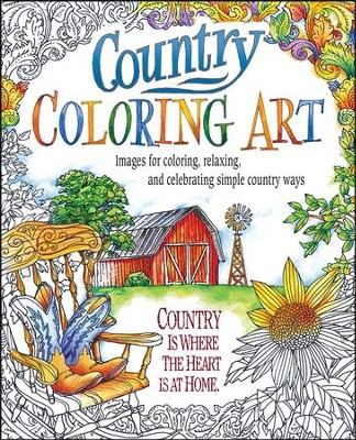 Country Coloring Art  -