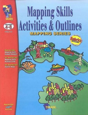 Mapping Activities & Outlines! Gr. 4-8  -