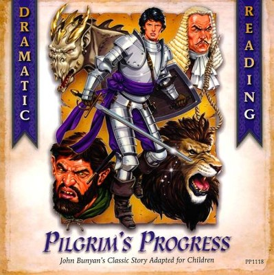 Pilgrim's Progress Dramatic Reading CD  -     Edited By: John Musselman     By: Anna Trimiew