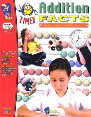 Timed Addition Facts, Grades 1-3   -