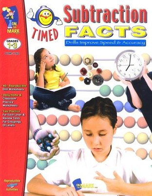Timed Subtraction Facts, Grades 1-3   -