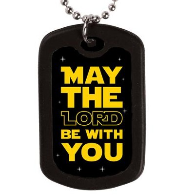 May the Lord, Faith Tag Necklace  -