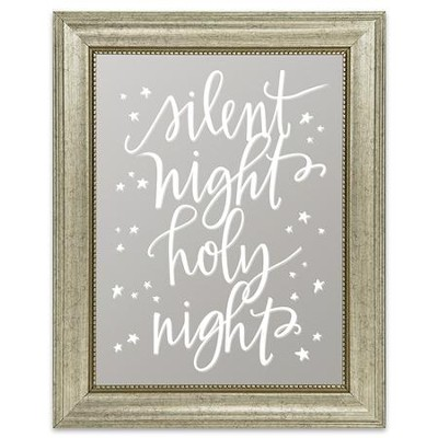 Silent Night, Holy Night Mirror  -