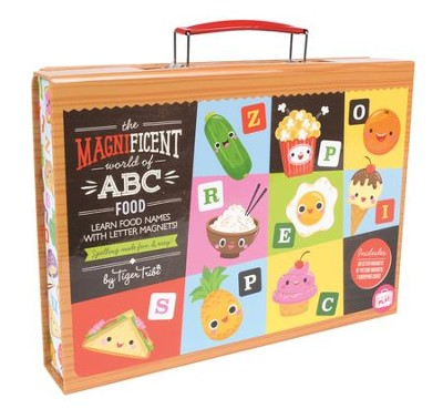 Magnificent World of ABC Food, Magnet Travel Case  -