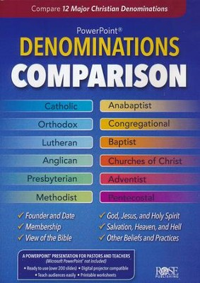 Denominations Comparison: PowerPoint CD-ROM  -